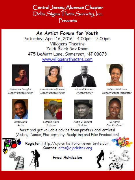 An Artist Forum for Youth - Central Jersey Alumnae Chapter of Delta