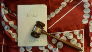 Gavel and Bible