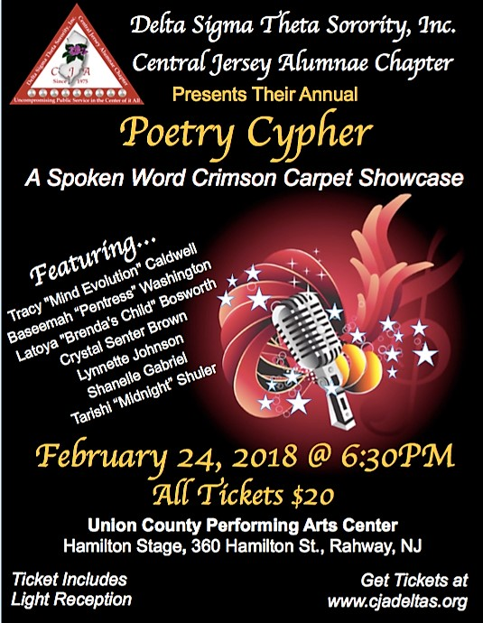 Poetry Cypher poster
