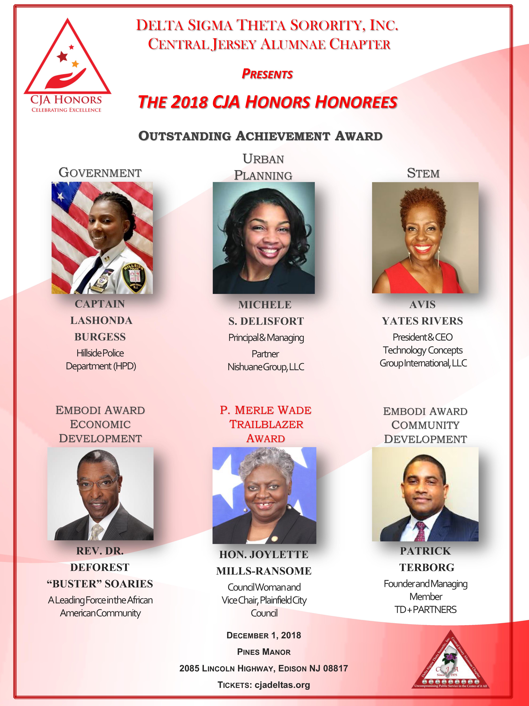 CJA Honors 2018