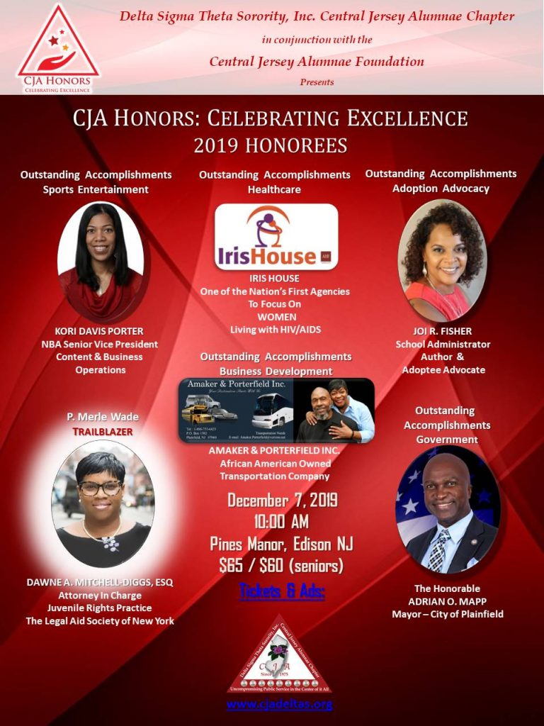2019 CJA Honors Flyer