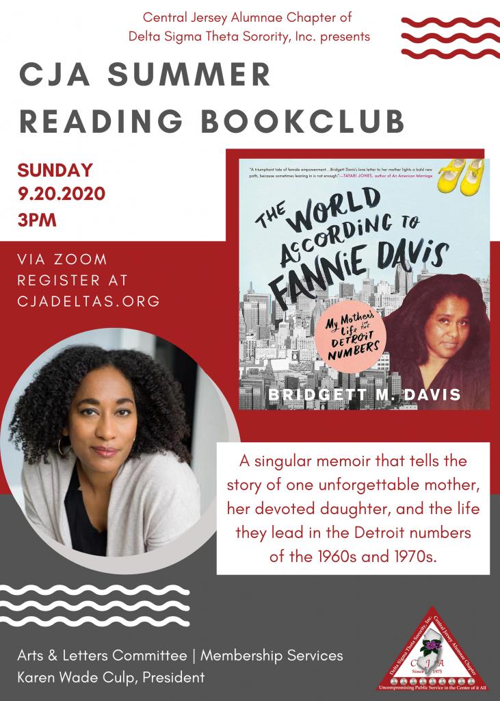 CJA Summer Reading Book Club Flyer