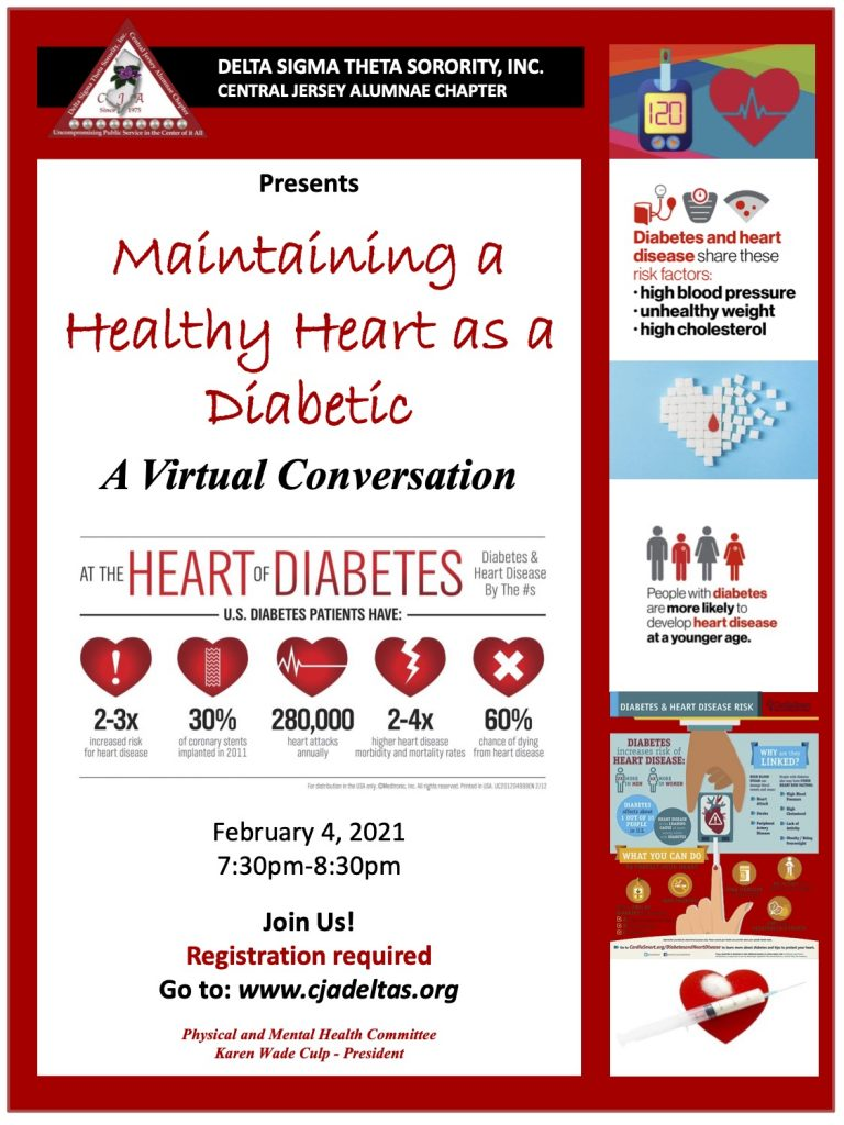 Maintaining a Healthy Heart While Being Diabetic - Central ...