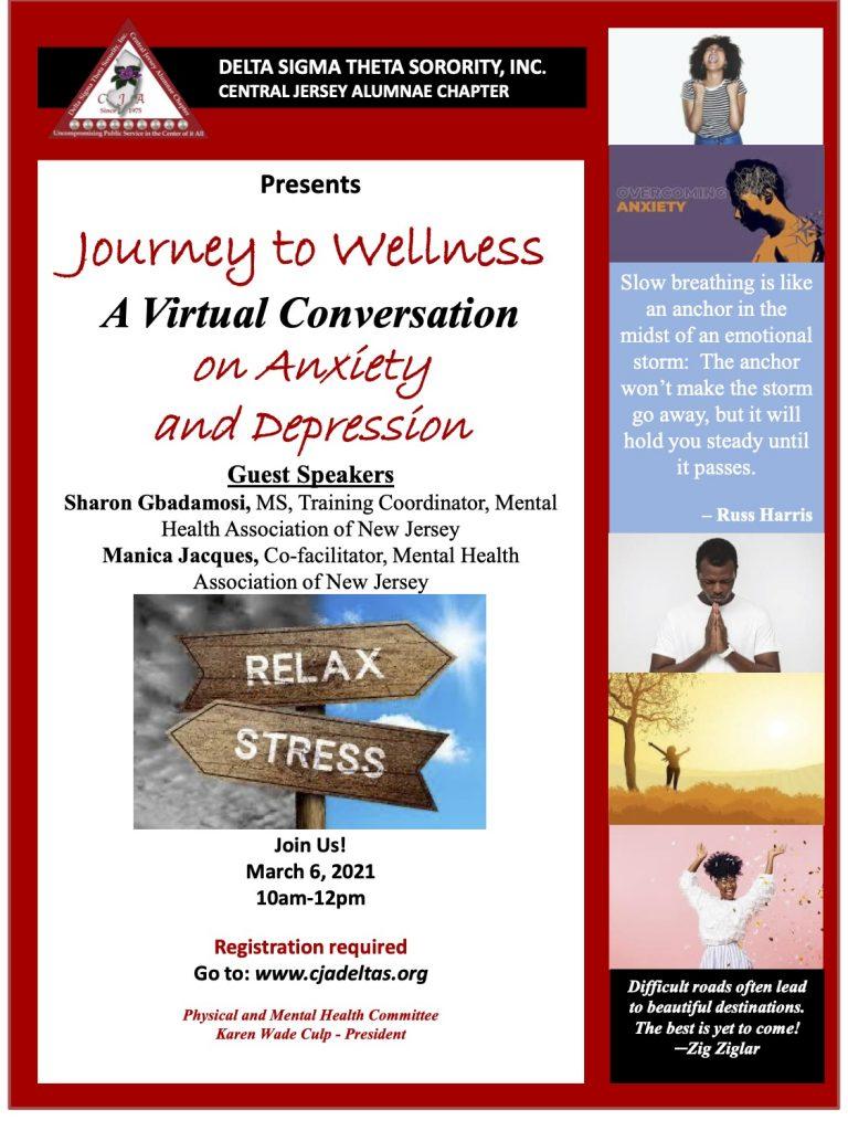 Journey to Wellness Flyer