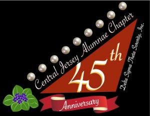 CJA 45th Anniversary Logo