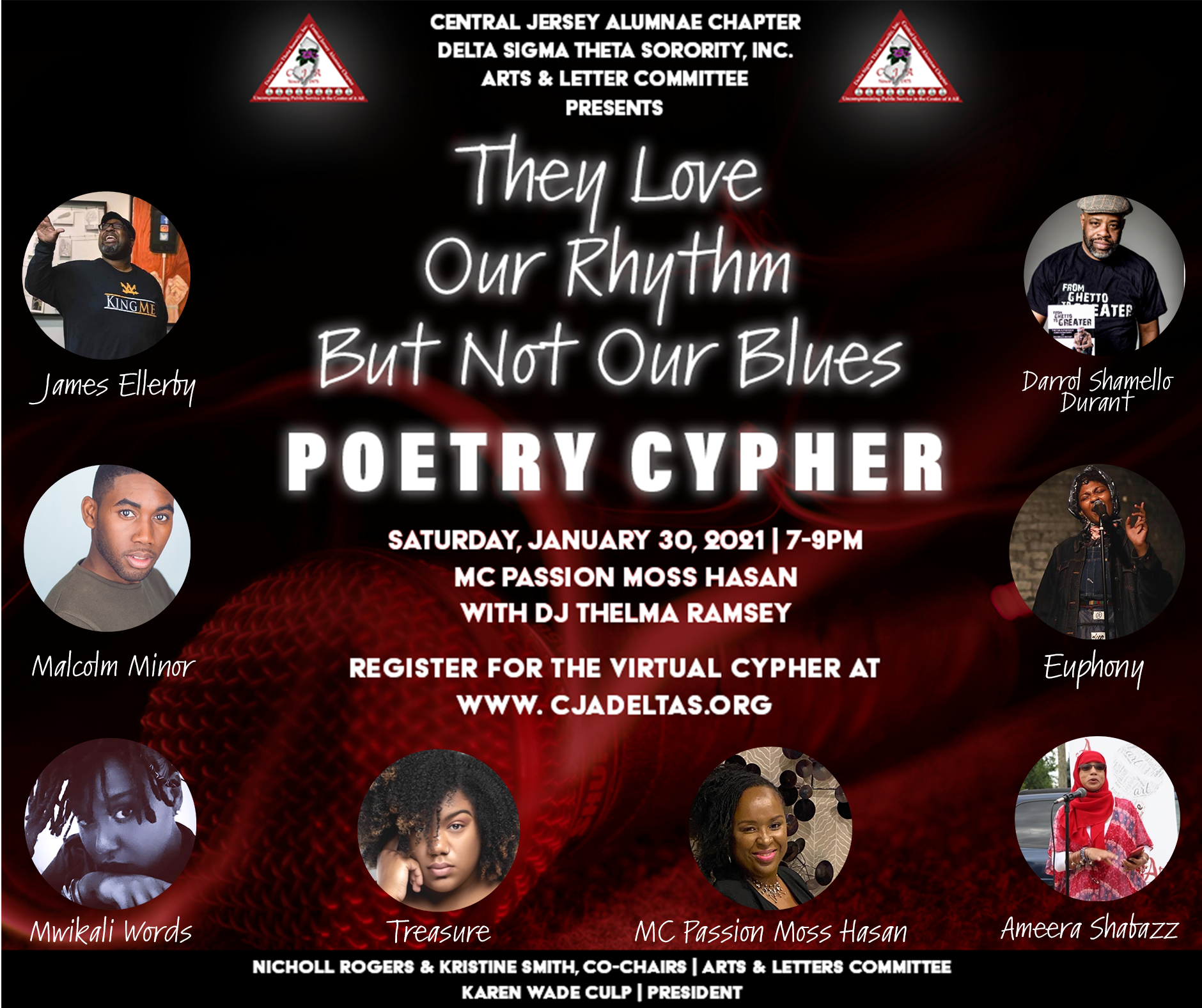 poetry cypher flyer