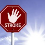 Stop Stroke sign logo