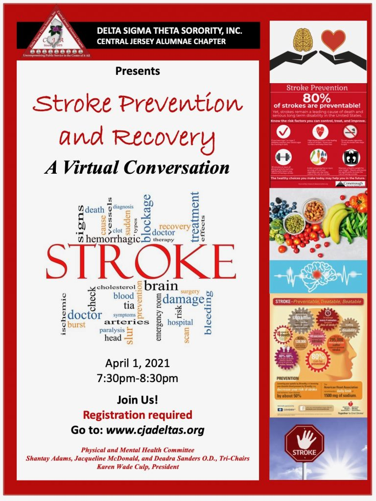 Stroke Prevention and Recovery Flyer