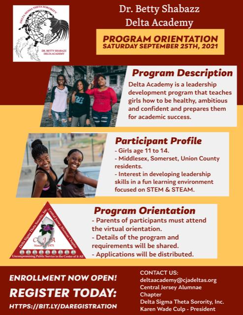 Delta Academy Program Orientation