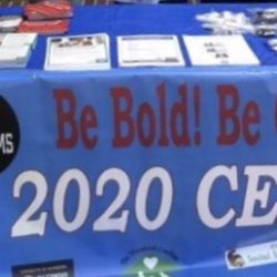 Be Bold! Be Counted! 2020 Census information table